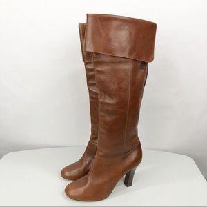 Steve Madden Knee High Boots HEIDI Brown Size 9